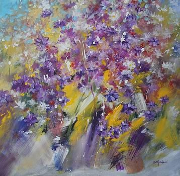 Violets by Mario Zampedroni