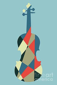 Benjamin Harte - Harlequin violin
