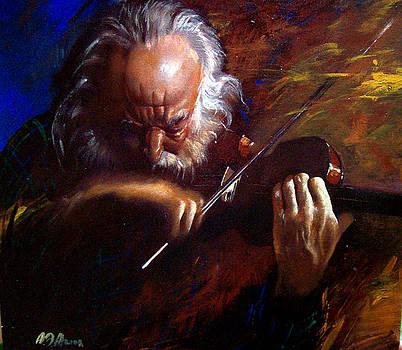 Violin by Alim Adilov