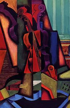 Violin And Guitar 1913 by Gris Juan