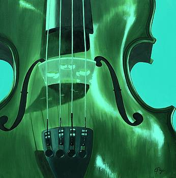Emily Page - Violin in Green