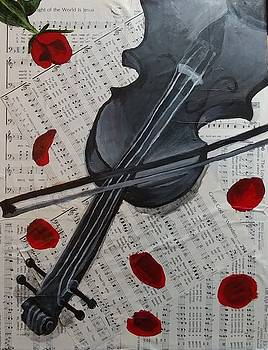 Violin by Tina Mostov