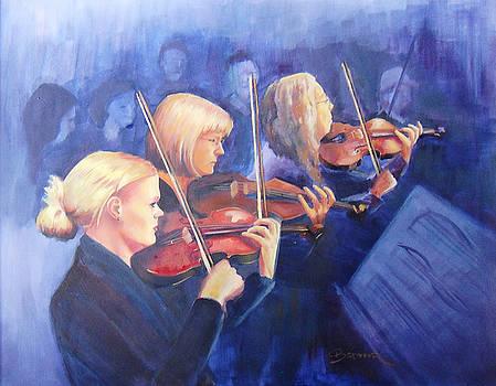 Violin Trio by Brandy Cattoor