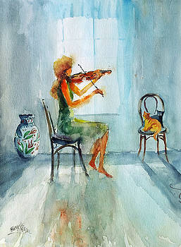 Violin Work... by Faruk Koksal