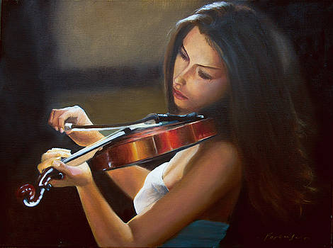 Violinist by Richard Ferguson
