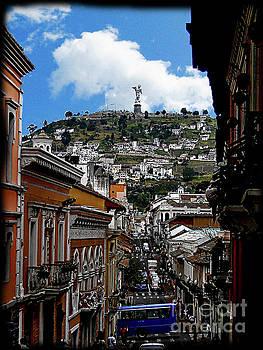 Virgen de El Panecillo IX, Quito, Ecuador by Al Bourassa
