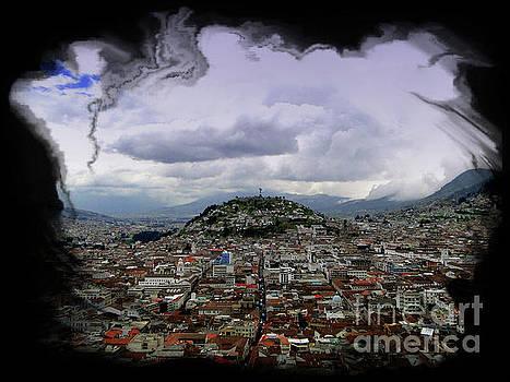 Virgen de El Panecillo VIII, Quito, Ecuador by Al Bourassa