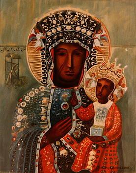 Virgin and Child by Rosencruz  Sumera