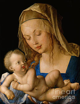 Albrecht Durer - Virgin and Child With Pear