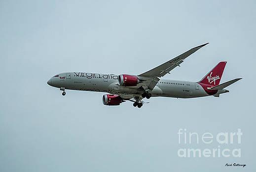 Reid Callaway - Virgin Atlantic Airplane GWMAP Boeing 787-9 Arriving LAX Art