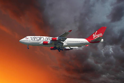 Virgin Atlantic by Nichola Denny