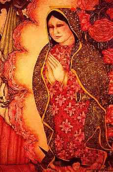 Virgin de Guadalupe by Dede Shamel Davalos
