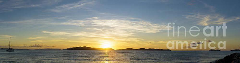 Virgin Gorda Sunset by Tim Mulina