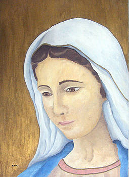 Virgin Mary   by Basma Saadeh