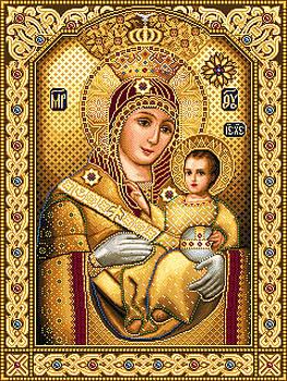 Virgin Mary of Bethlehem Icon by Stoyanka Ivanova