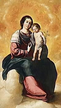 Zurbaran Francisco de - Virgin Of The Rosary