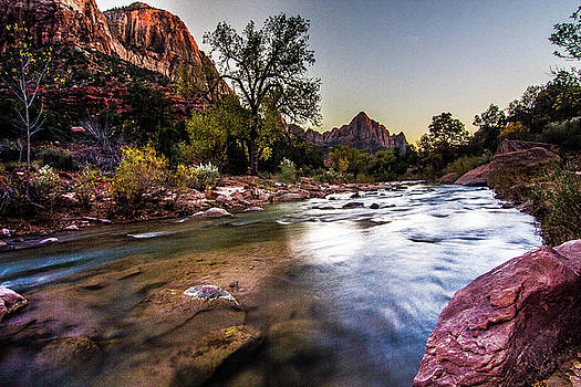 Virgin River of Zion by Craig Rowtham