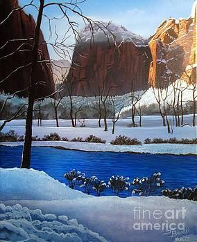 Virgin Snow ZION by Jerry Bokowski