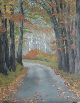 Virginia Back Road by Aletha Jo Lane