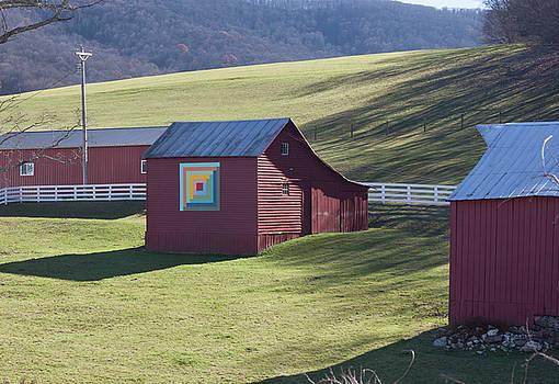 Virginia Barn Quilt Series XXX by Suzanne Gaff