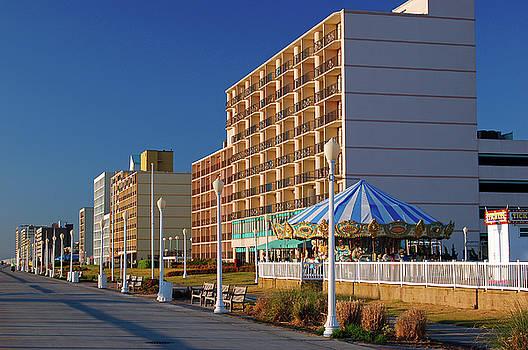 Virginia Beach Boardwalk by James Kirkikis