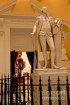 Jemmy Archer - Virginia Capitol - Washington and Lee Statues