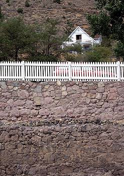 Virginia City Wall by Edward Hass