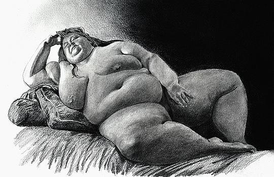 Virginia lounging by Olivier Duhamel