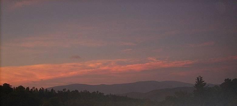 Virginia Mountain Sunrise by Jeremy Gibson