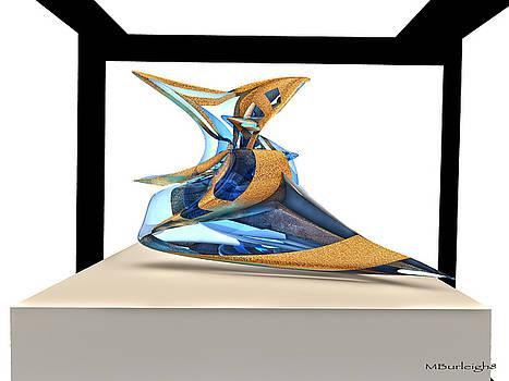 Virtual Sculpture 4 by Michael Burleigh