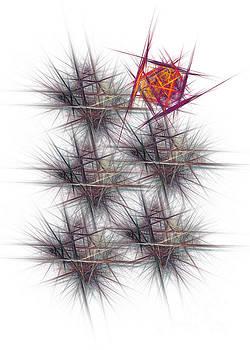 Justyna Jaszke JBJart - Virus abstract art
