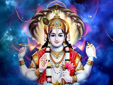 Vishnu by Khalil Art