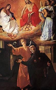 Zurbaran Francisco de - Vision Of Blessed Alonso Rodriguez 1633