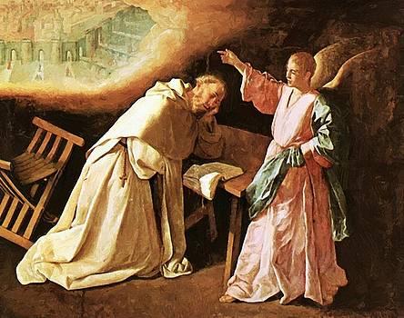 Zurbaran Francisco de - Vision Of St Peter Nolasco 1629