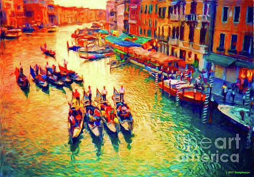 Vision Of Venice by Jerome Stumphauzer