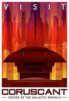 Visit Coruscant by Christopher Ables