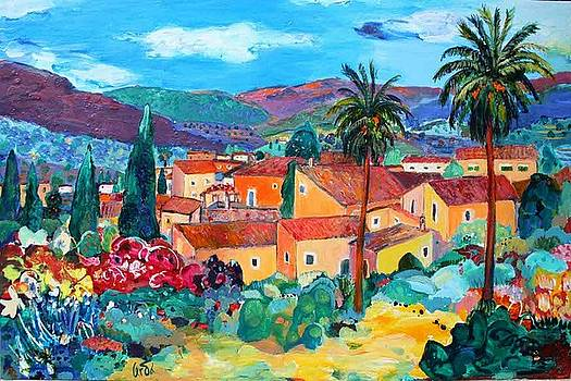 Vista de Biniaraix by M Cerda
