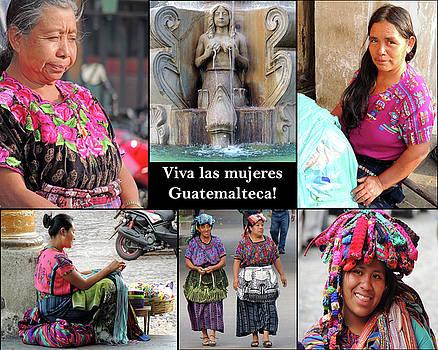 Viva Las Mujeres Guatemalteca by Krin Van Tatenhove