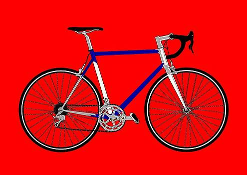 VivaChas Bicycle on Great Stuff by Chas Sinklier
