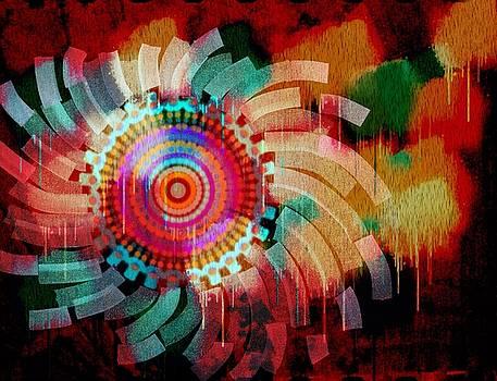Vivid Circle by Cooky Goldblatt