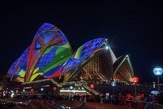 Daniela Constantinescu - Vivid Sydney at Opera House