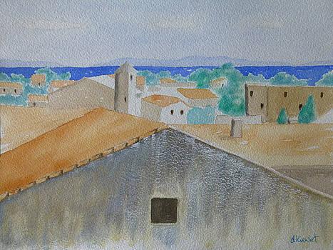 Viviers sur le Rhone by Debbie Kiewiet