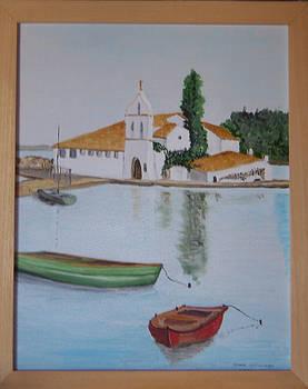 Vlachierena church - Corfu Town by Anna Witkowska