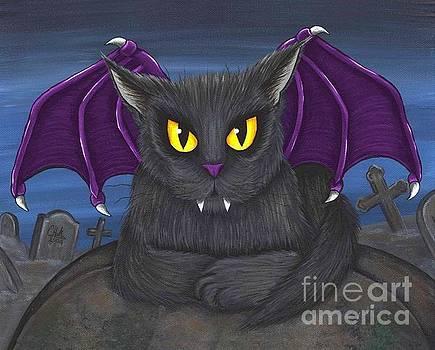Vlad Vampire Cat by Carrie Hawks