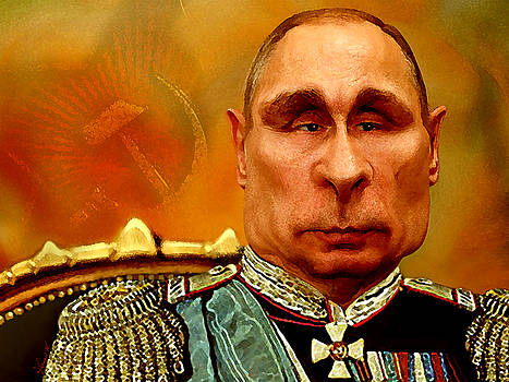 Vladimir Putin by Hans Neuhart