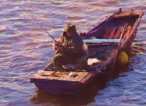 Vltava Fishing by Shawn Wallwork