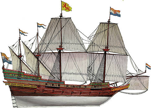 VOC Galleon by The Collectioner