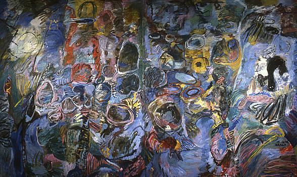 Voices Around Me by Richard Baron