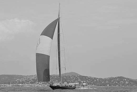 Voilier Golfe de Saint-Tropez by Tom Vandenhende