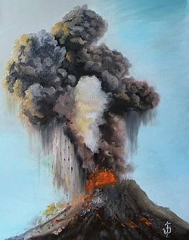 Volcan de Fuego by Jose Velasquez